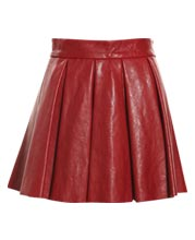 schoolgirl-inspired-flirty-leather-skirt