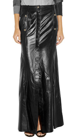 Hook and Eye Jumpy Maxi Skirt