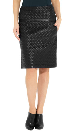 Fully Lined Quilted Skirt