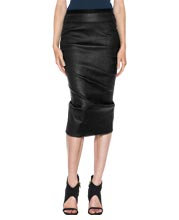 draped-style-pillar-leather-skirt