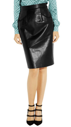 Classic Back Split Pencil Skirt