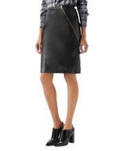wrap-around-zipper-leather-skirt