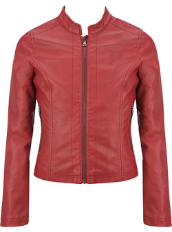 Ritzy Leather Jacket for Kids