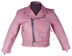 Savoir-Faire Leather Jacket for Kids