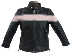 Body-Adorning Leather Jacket for Kids