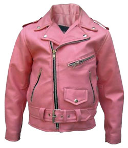 Groovy Leather Jacket for Kids