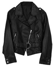 Napoleonic Styled Leather Jacket for Kids