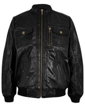 Lambskin-leather-boys-jacket-with-stand-collar